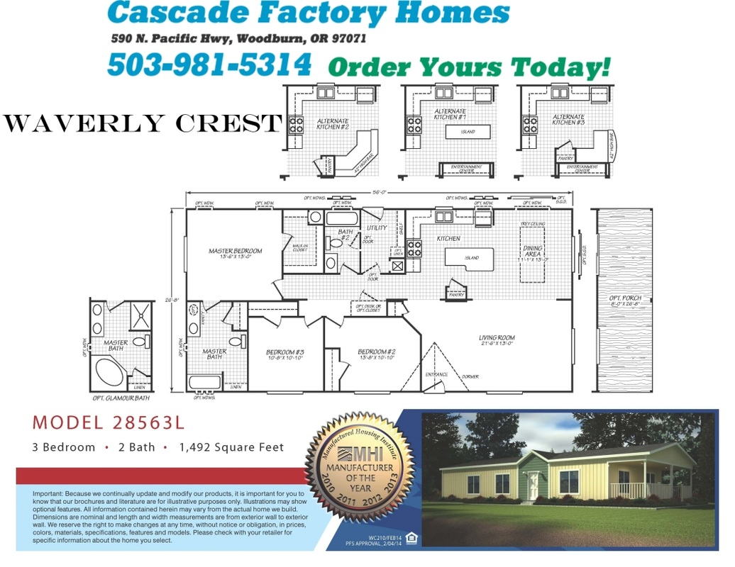 28563l Waverly Crest Floor Plan