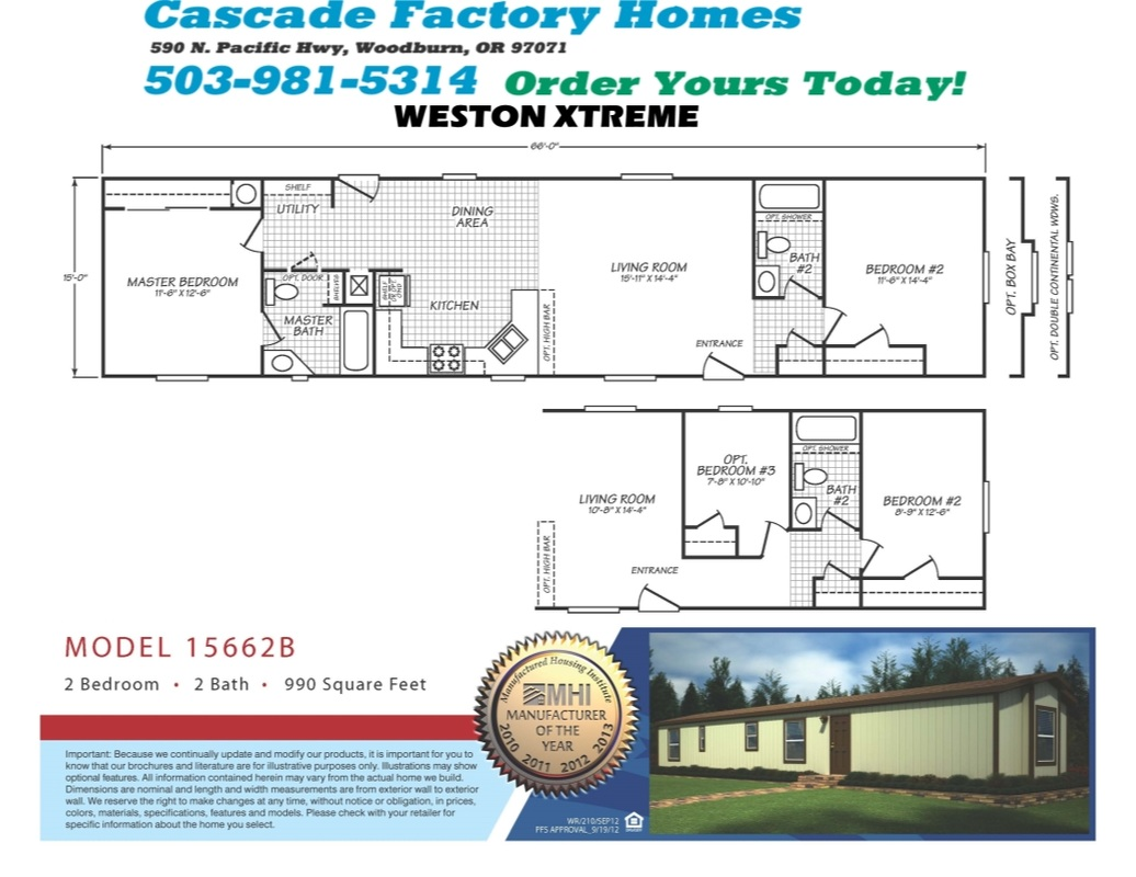 15662b weston xtreme floor plan